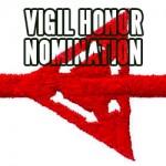 Order of the Arrow Vigil Honor Nomination