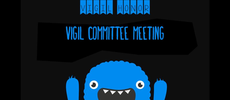 Eswau Huppeday Vigil Committee Meeting