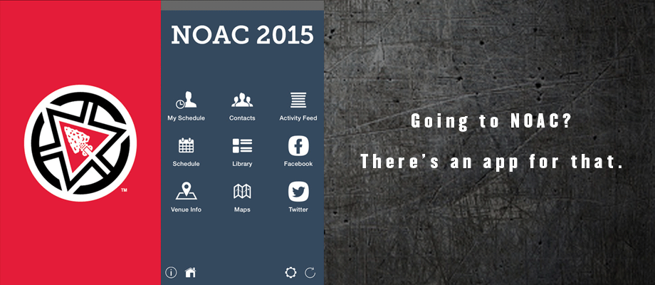 2015 NOAC Mobile App