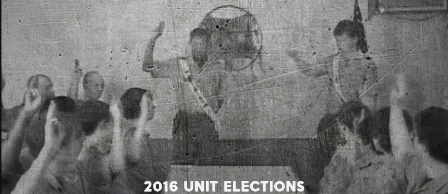 2016 Order of the Arrow Unit Elections