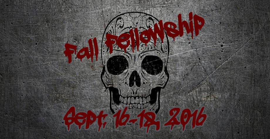 2016 Fall Fellowship