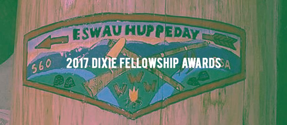 2017 Dixie Fellowship Awards