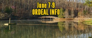 June Order of the Arrow Ordeal Information