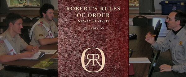 Roberts Rules of Order Cheat Sheet