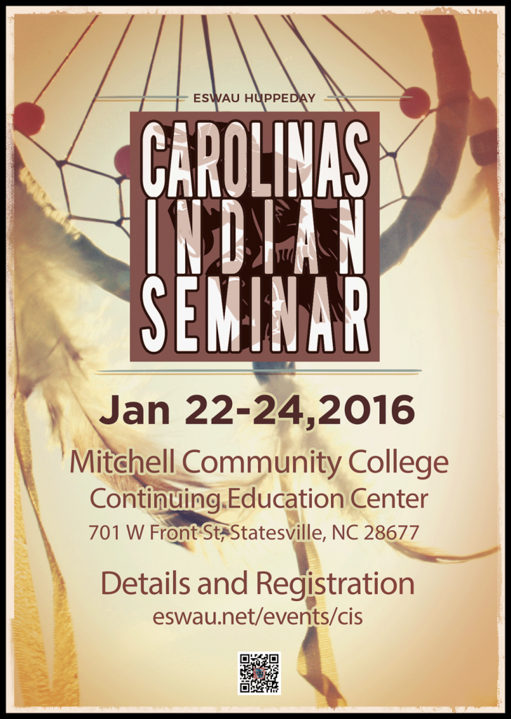 2016 Carolina's Indian Seminar Flyer