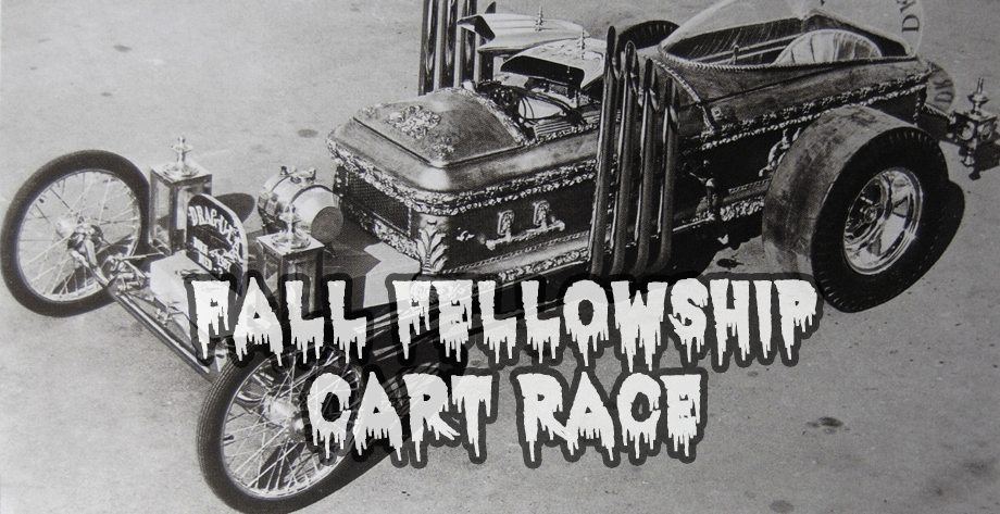 2016 Fall Fellowship Cart Race Rules