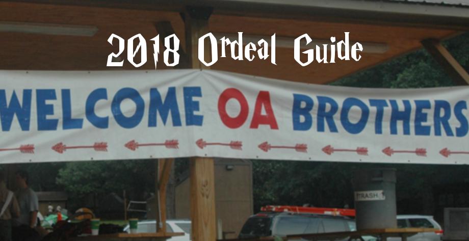 2018 Ordeal Guide