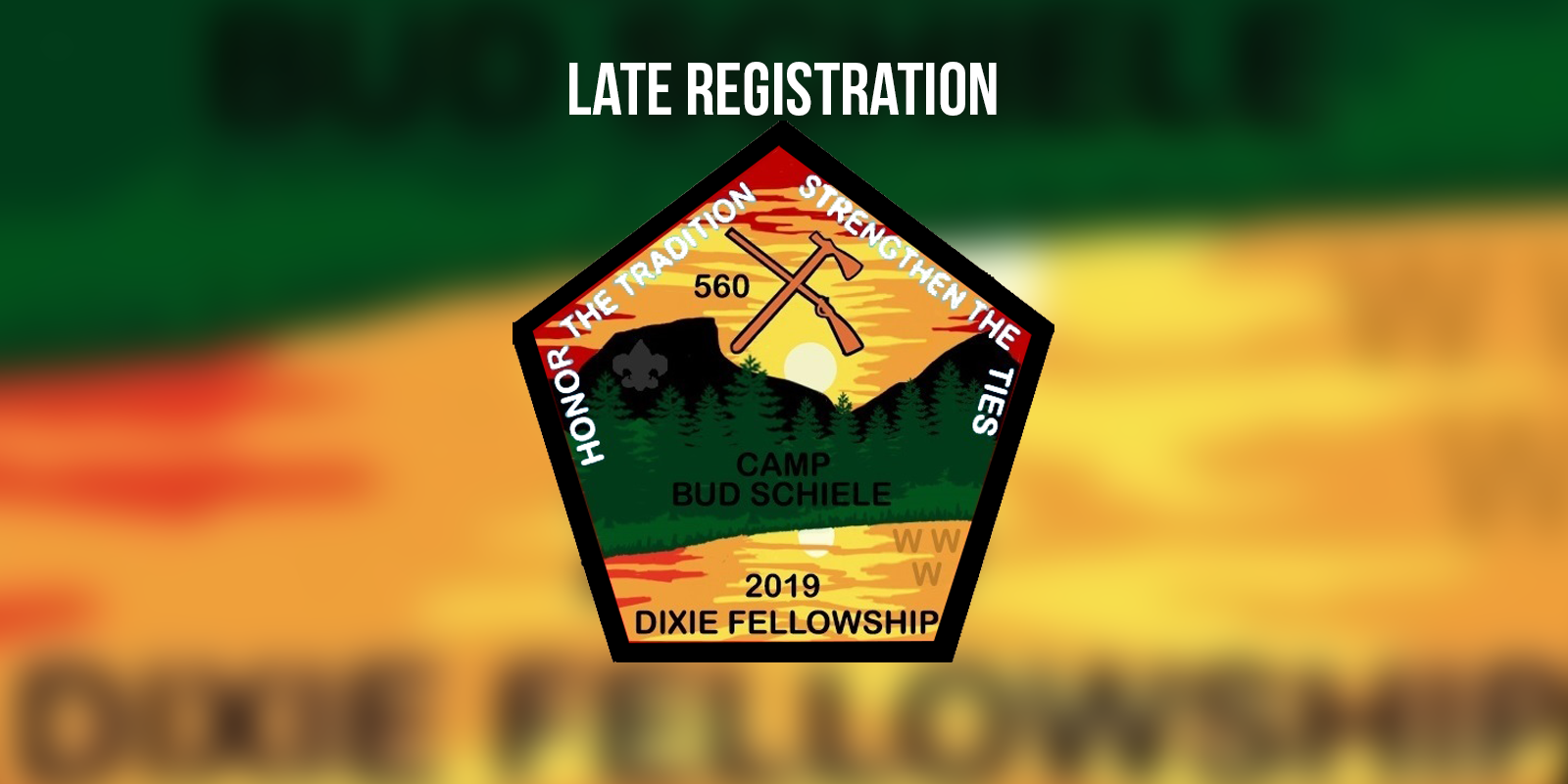 Late Registration for the 2019 Dixie Fellowship