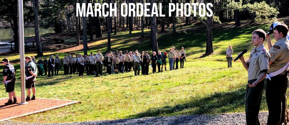 2019 March Ordeal Photos