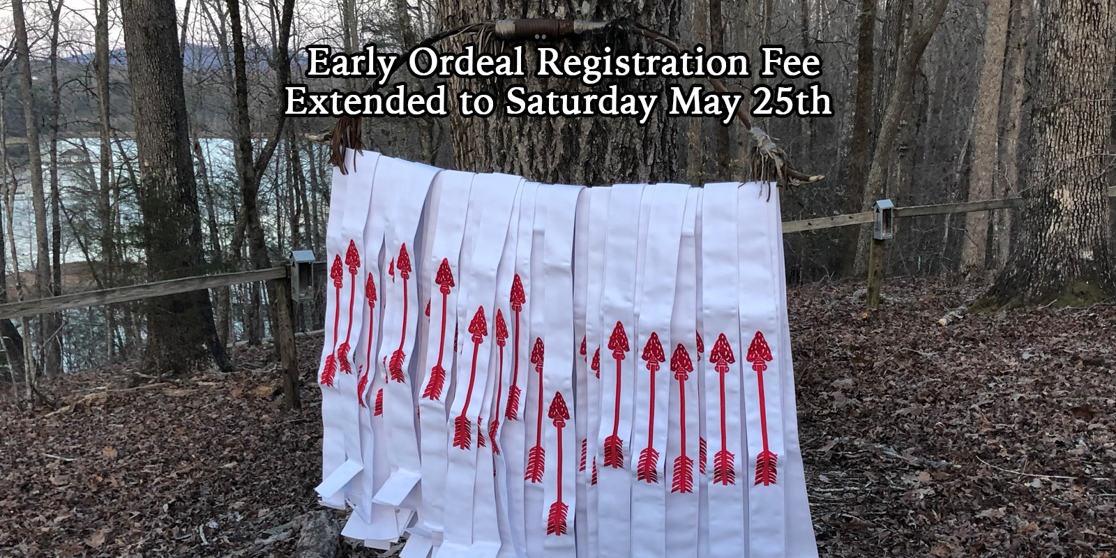Early Registration for May Ordeal Extended