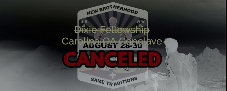 2020 Dixie Fellowship Canceled