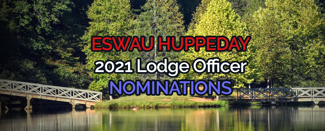 2021 Lodge Officer Nominations