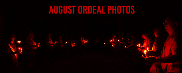 August 2021 Ordeal Photos